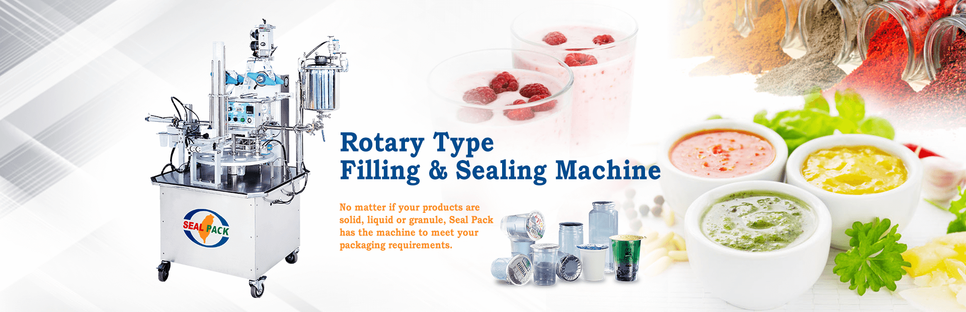 Seal Pack Technology - Professional Manufacturer of Customize Filling Machine and Sealing Machines