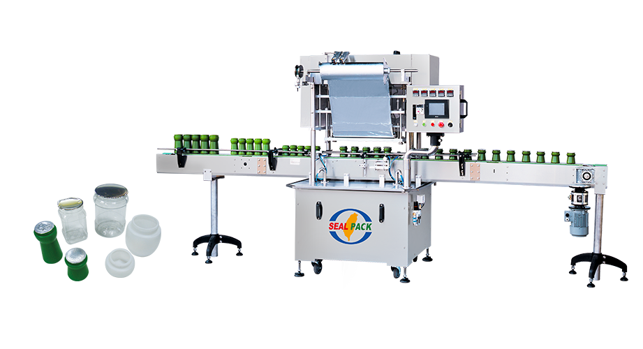 Jar Automatic Sealing Machine SP-83 Series - Seal Pack Technology