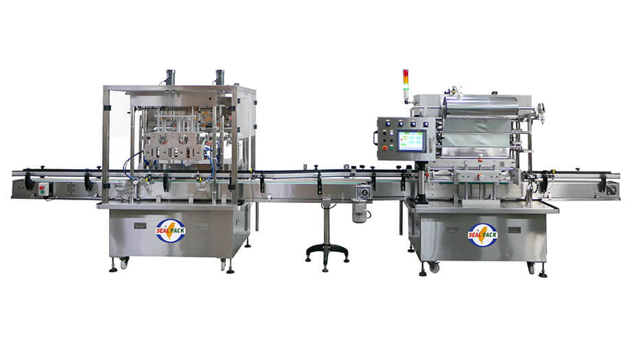 Jar Automatic Filling Machine SP-82 Series - Seal Pack Technology
