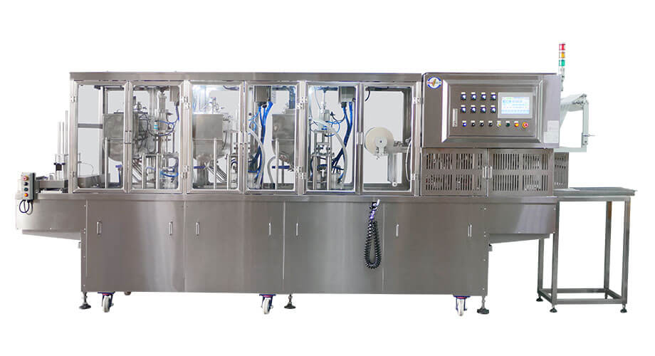 Liquid Filling and Sealing Machine SP-12 Series - Seal Pack Technology