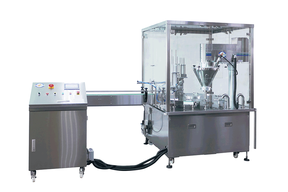Powder /Granule Filling and Sealing Machine SP-24 Series - Seal Pack Technology